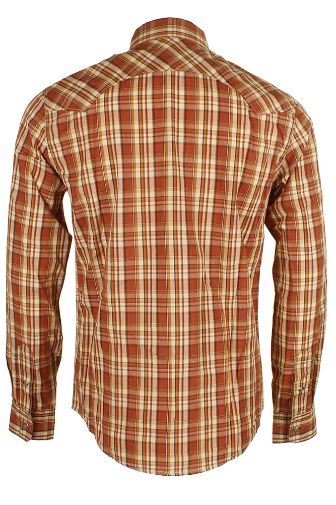 Levi-039-s-Men-039-s-Long-Sleeve-Western-Cut-Snap-Plaid-Shirt thumbnail 12