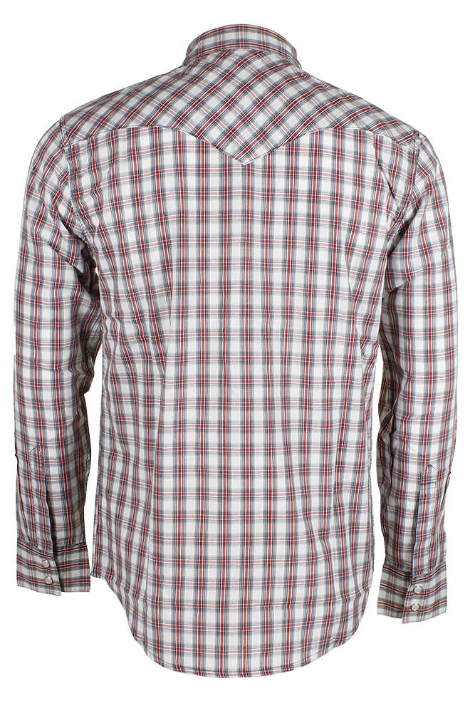 Levi-039-s-Men-039-s-Long-Sleeve-Western-Cut-Snap-Plaid-Shirt thumbnail 48