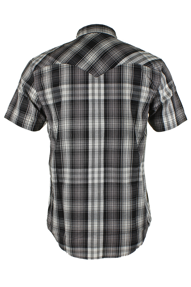 Levi-039-s-Men-039-s-Short-Sleeve-Snap-Front-Shirt thumbnail 6