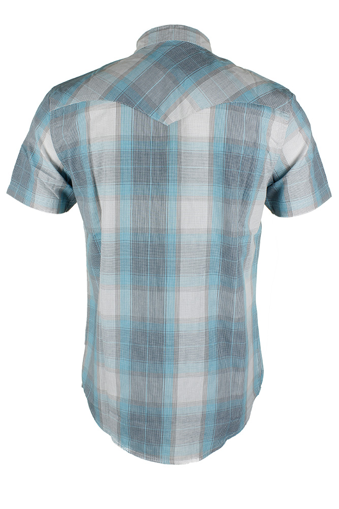 Levi-039-s-Men-039-s-Short-Sleeve-Snap-Front-Shirt thumbnail 9
