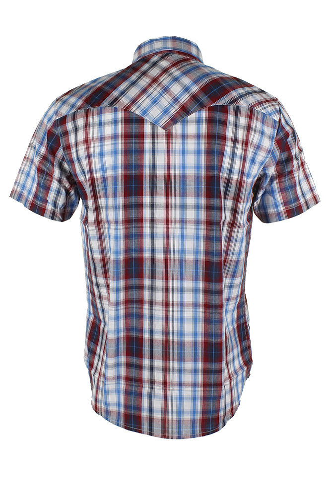 Levi-039-s-Men-039-s-Short-Sleeve-Snap-Front-Shirt thumbnail 12