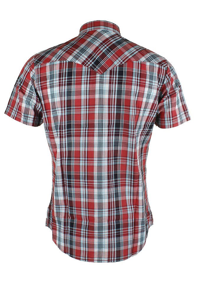 Levi-039-s-Men-039-s-Short-Sleeve-Snap-Front-Shirt thumbnail 3