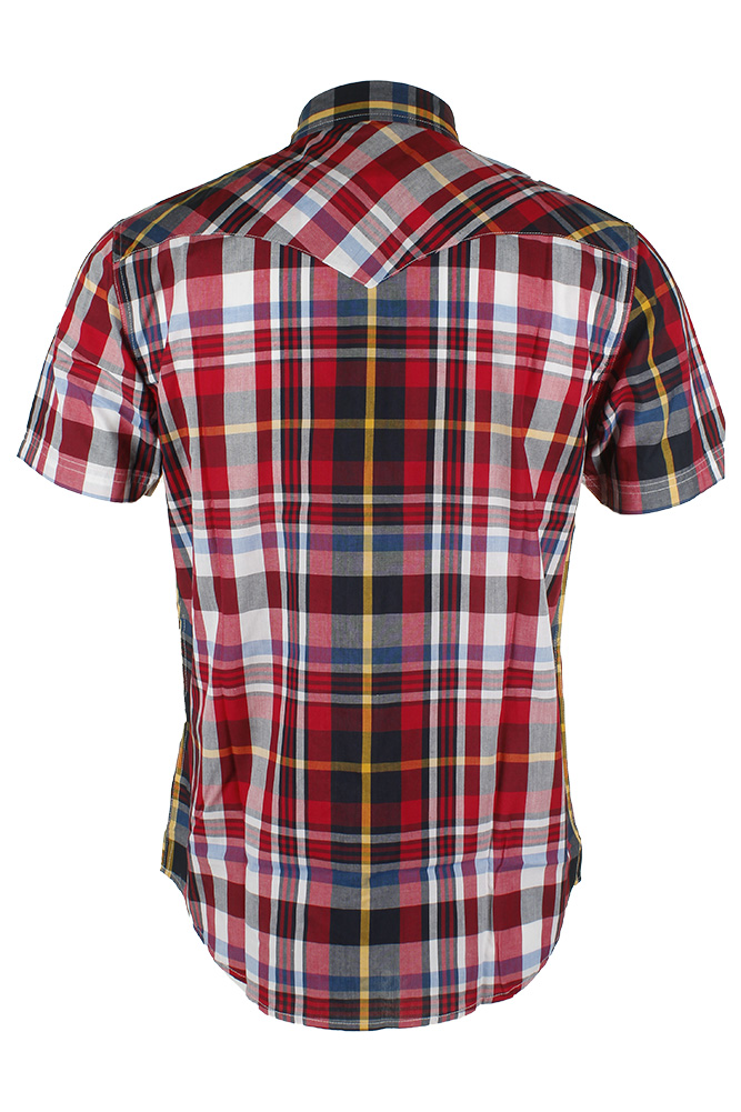 Levi-039-s-Men-039-s-Short-Sleeve-Snap-Front-Shirt thumbnail 24