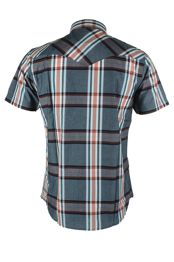 Levi-039-s-Men-039-s-Short-Sleeve-Snap-Front-Shirt thumbnail 48