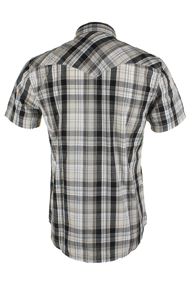 Levi-039-s-Men-039-s-Short-Sleeve-Snap-Front-Shirt thumbnail 18