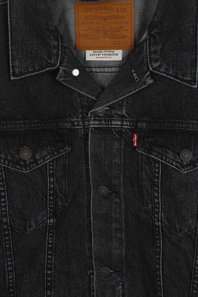 Levi-039-s-Herren-Denim-Baumwolle-Knopfleiste-Denim-Trucker-Jacket Indexbild 19