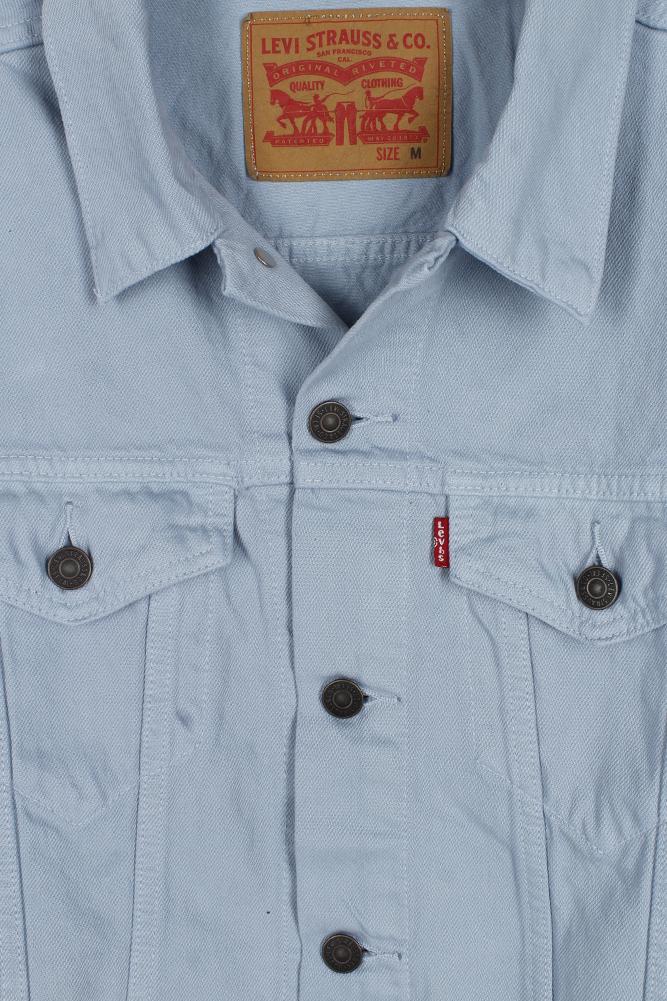 Levi-039-s-Herren-Denim-Baumwolle-Knopfleiste-Denim-Trucker-Jacket Indexbild 22