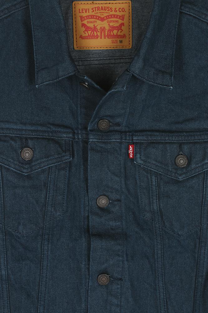 Levi-039-s-Men-039-s-Regular-Fit-Button-Up-Cut-Off-Trucker-Vest thumbnail 8