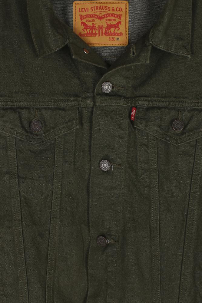 Levi-039-s-Men-039-s-Regular-Fit-Button-Up-Cut-Off-Trucker-Vest thumbnail 11