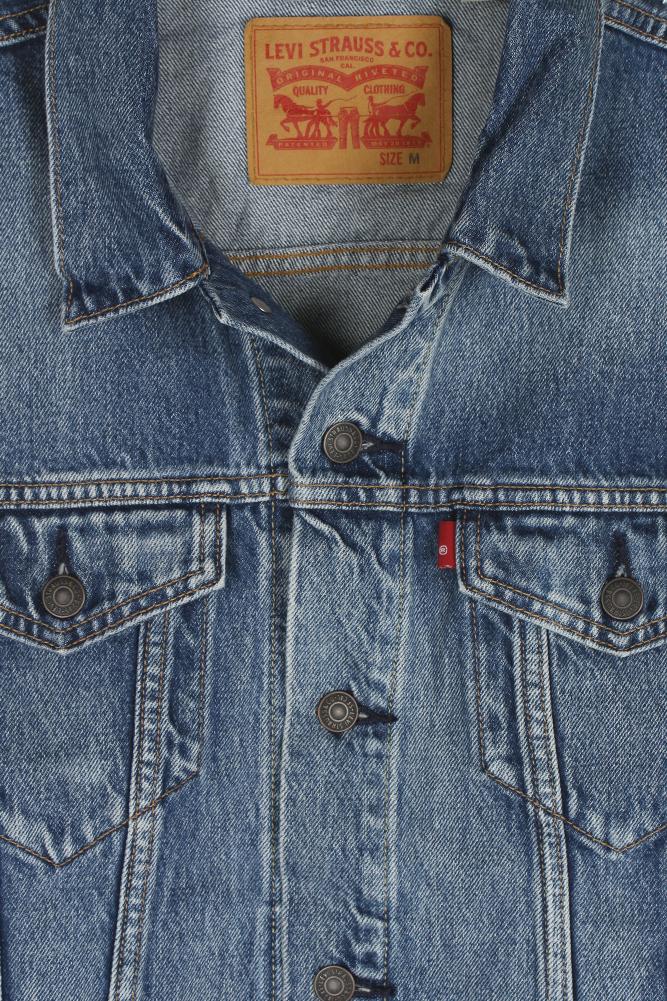 Levi-039-s-Men-039-s-Regular-Fit-Button-Up-Cut-Off-Trucker-Vest thumbnail 14