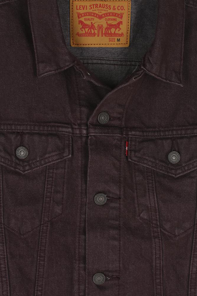 Levi-039-s-Men-039-s-Regular-Fit-Button-Up-Cut-Off-Trucker-Vest thumbnail 17