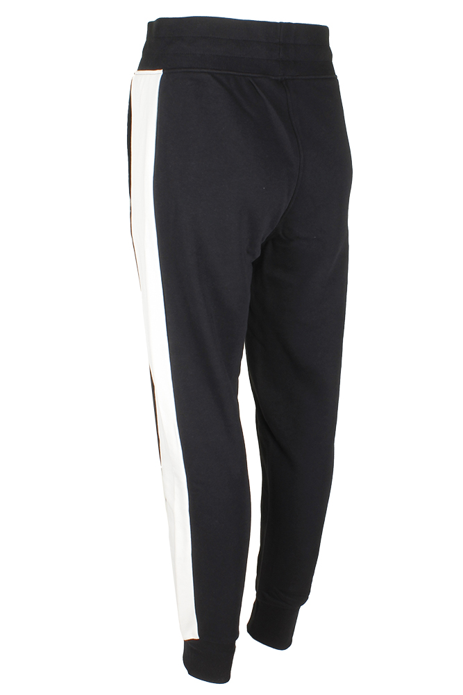 Puma-Ladies-French-Terry-Ribbed-Cuff-Fleece-Jogger-Pants thumbnail 3