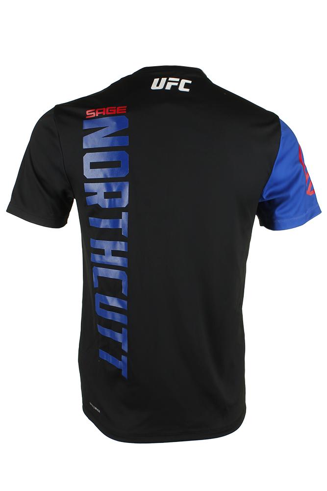 Reebok-Men-039-s-UFC-Official-Fighter-Jersey-Shirt thumbnail 3