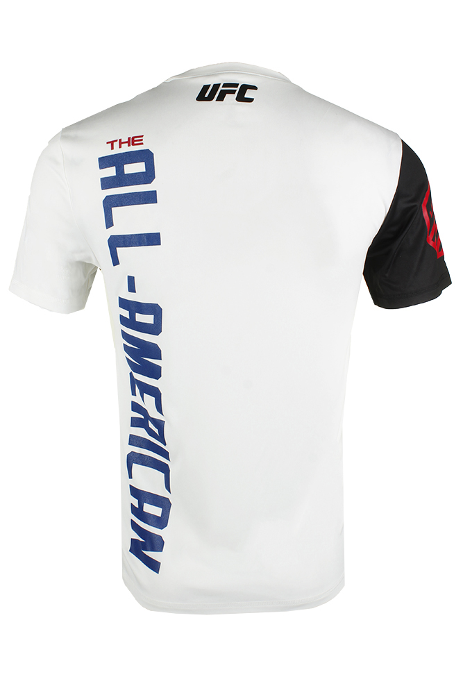 Reebok-Men-039-s-UFC-Official-Fighter-Jersey-Shirt thumbnail 3