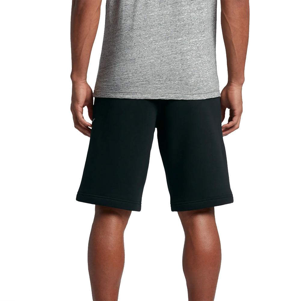 Nike-Men-039-s-Athletic-Wear-Graphic-Swoosh-Standard-Fit-Club-Fleece-Shorts thumbnail 4