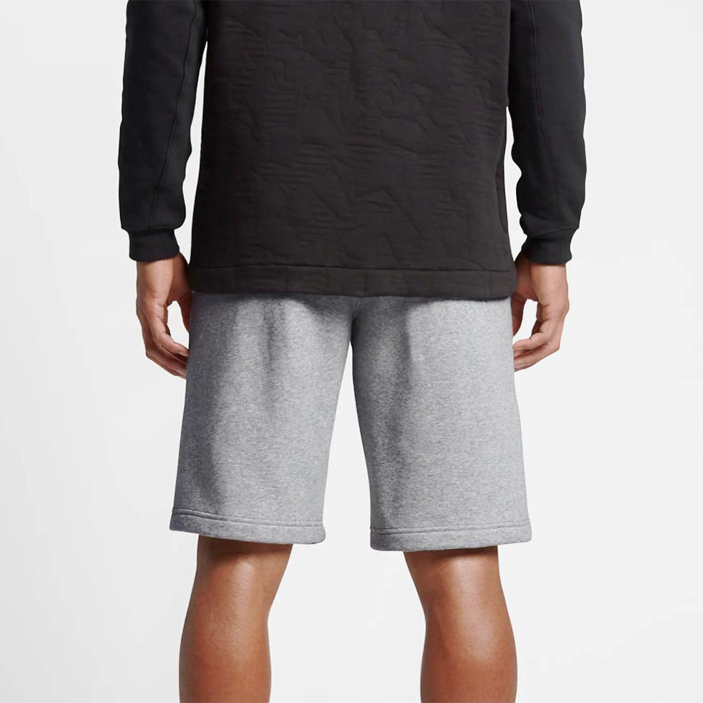 Nike-Men-039-s-Athletic-Wear-Graphic-Swoosh-Standard-Fit-Club-Fleece-Shorts thumbnail 7