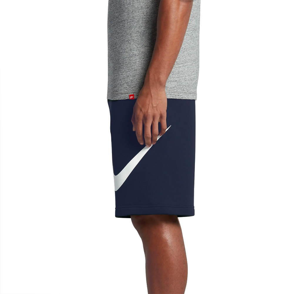 Nike-Men-039-s-Athletic-Wear-Graphic-Swoosh-Standard-Fit-Club-Fleece-Shorts thumbnail 10