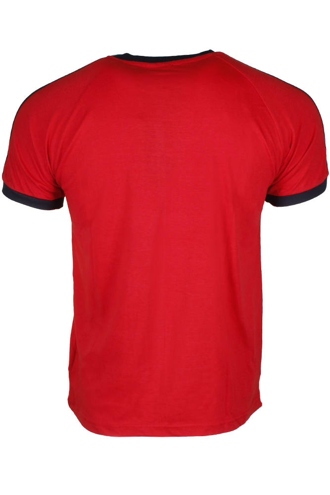 Adidas-Men-039-s-Original-Short-Sleeve-3-Stripe-Essential-California-T-Shirt thumbnail 9