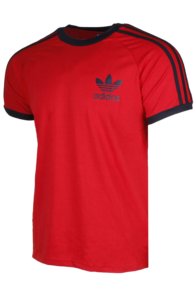 Adidas-Men-039-s-Original-Short-Sleeve-3-Stripe-Essential-California-T-Shirt thumbnail 10