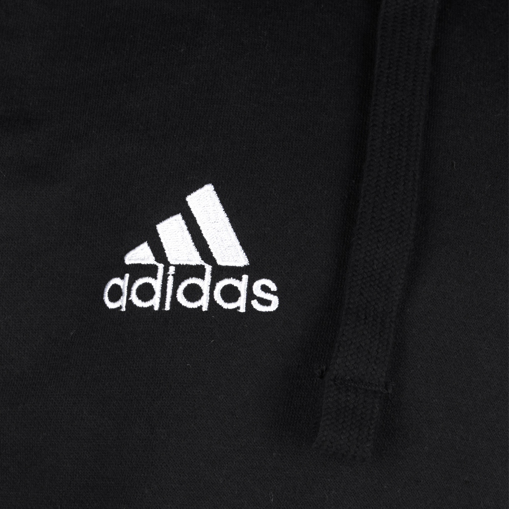Adidas-Men-039-s-Essentials-Logo-Graphic-Pouch-Pocket-Pullover-Hoodie thumbnail 4