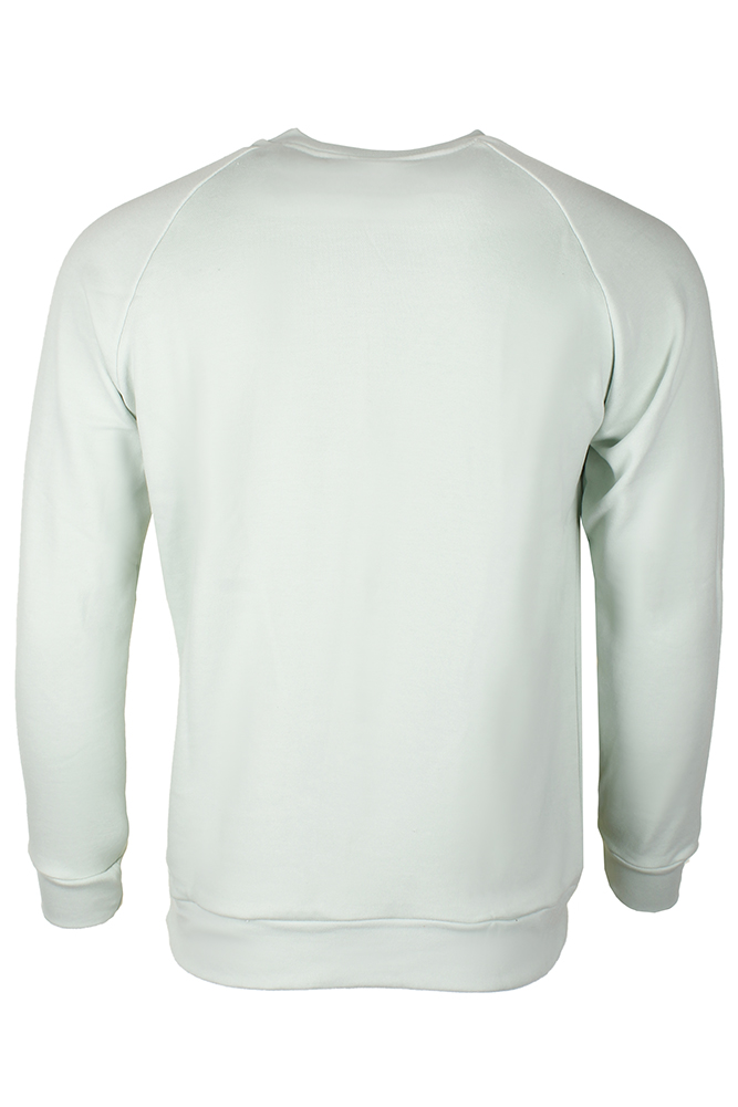 Adidas-Men-039-s-Trefoil-Logo-Graphic-Raglan-Sleeve-Sweatshirt thumbnail 9