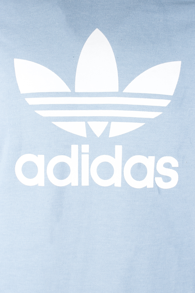 Adidas-Men-039-s-Trefoil-Logo-Graphic-Raglan-Sleeve-Sweatshirt thumbnail 16