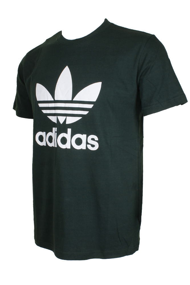 Adidas-Men-039-s-Short-Sleeve-Trefoil-Logo-Graphic-T-Shirt thumbnail 5