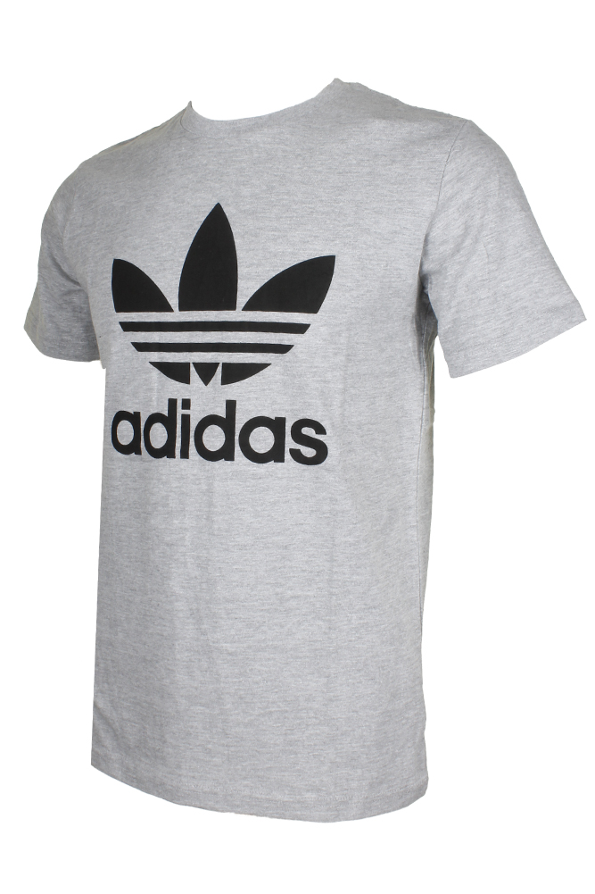 Adidas-Men-039-s-Short-Sleeve-Trefoil-Logo-Graphic-T-Shirt thumbnail 9