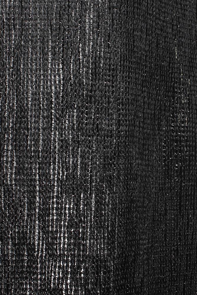 DBFL-Ladies-Metallic-Shimmery-Fringed-Mesh-Evening-Scarf thumbnail 7