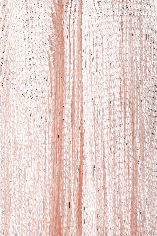 DBFL-Ladies-Metallic-Shimmery-Fringed-Mesh-Evening-Scarf thumbnail 16
