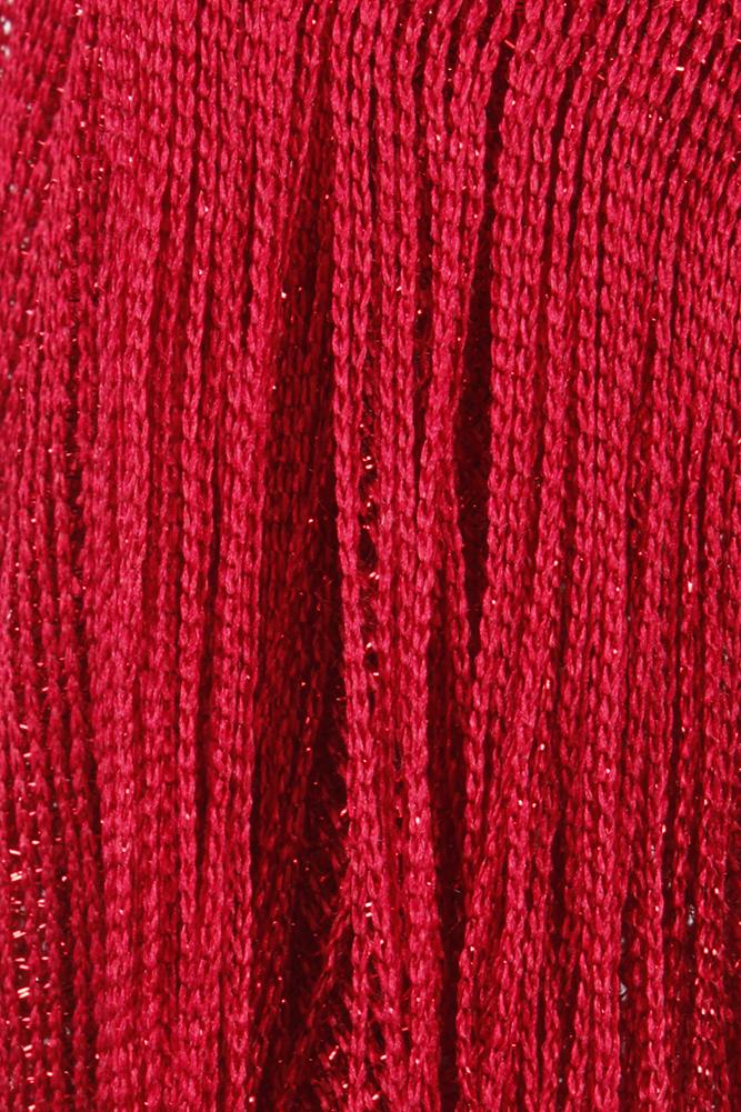 DBFL-Ladies-Metallic-Shimmery-Fringed-Mesh-Evening-Scarf thumbnail 22
