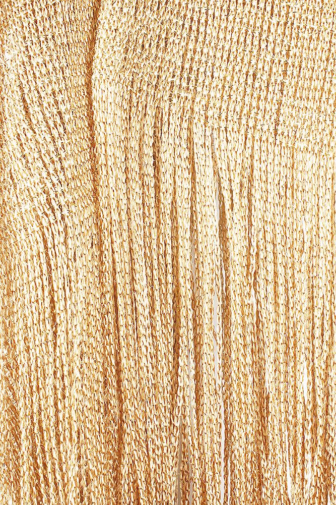 DBFL-Ladies-Metallic-Shimmery-Fringed-Mesh-Evening-Scarf thumbnail 34