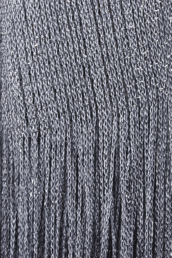 DBFL-Ladies-Metallic-Shimmery-Fringed-Mesh-Evening-Scarf thumbnail 40