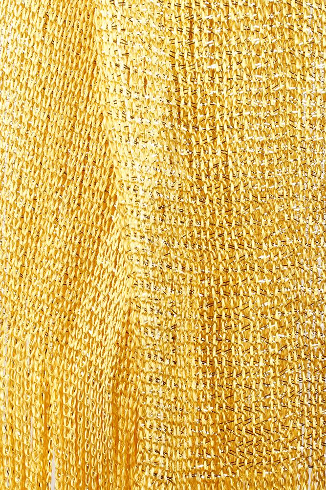 DBFL-Ladies-Metallic-Shimmery-Fringed-Mesh-Evening-Scarf thumbnail 88