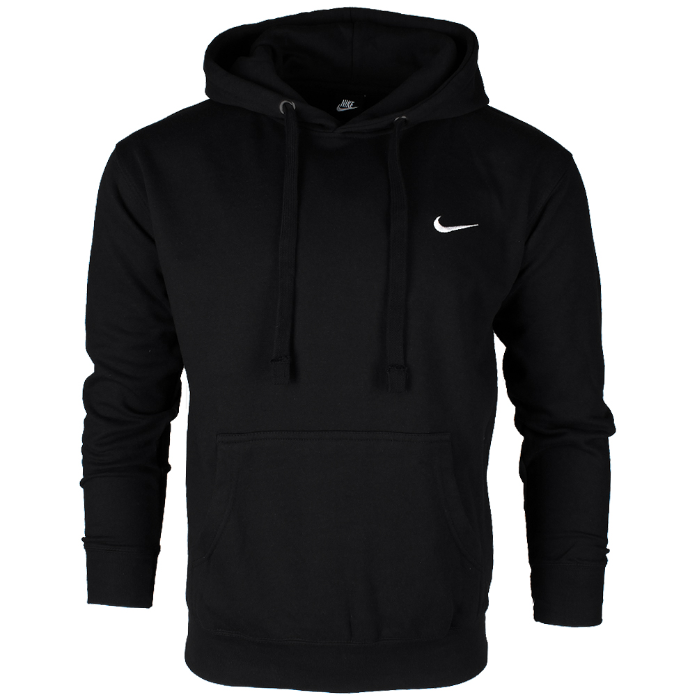 thumbnail 2 - Nike Men's Athletic Wear Embroidered Swoosh Fleece Gym Active Pullover Hoodie