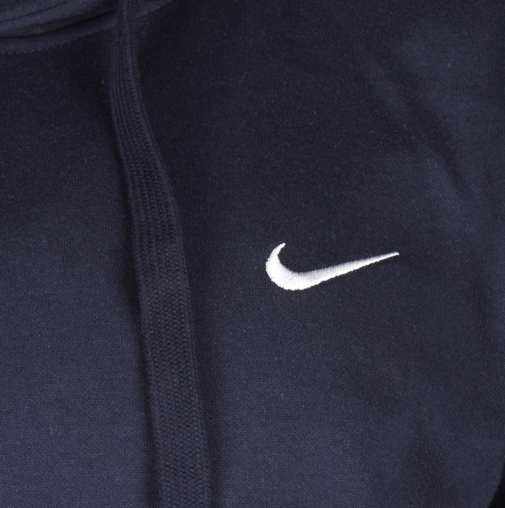 Nike-Men-039-s-Long-Sleeve-Embroidered-Swoosh-Fleece-Pullover-Hoodie thumbnail 10