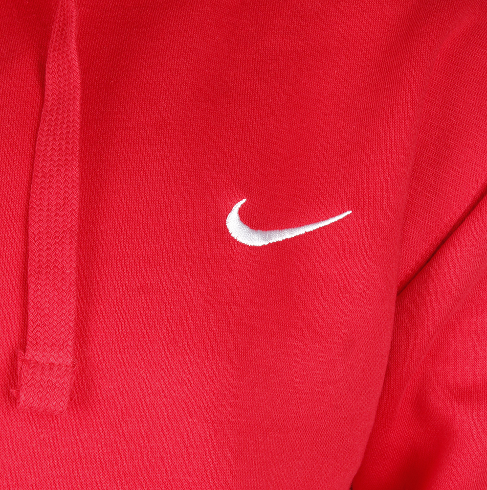 Nike-Men-039-s-Long-Sleeve-Embroidered-Swoosh-Fleece-Pullover-Hoodie thumbnail 13