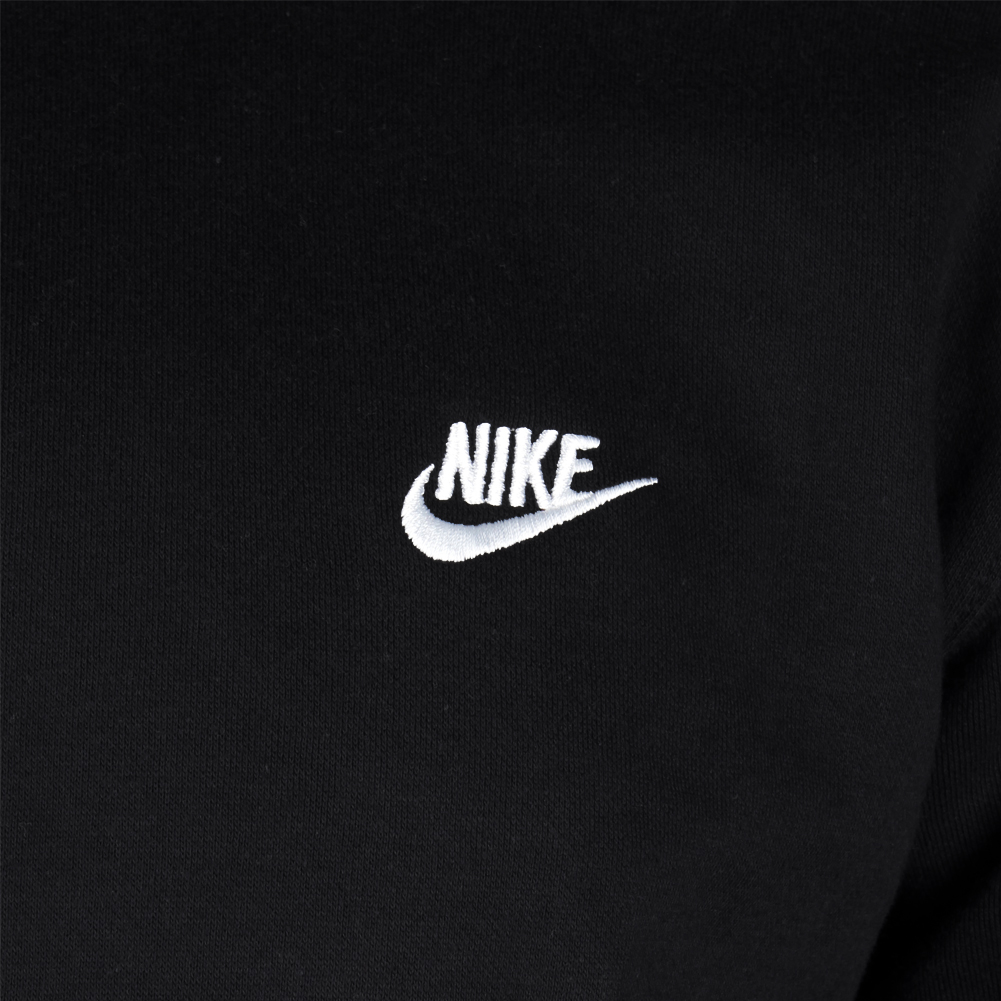 Nike-Men-039-s-Long-Sleeve-Embroidered-Logo-Club-Crew-Neck-Sweatshirt thumbnail 4