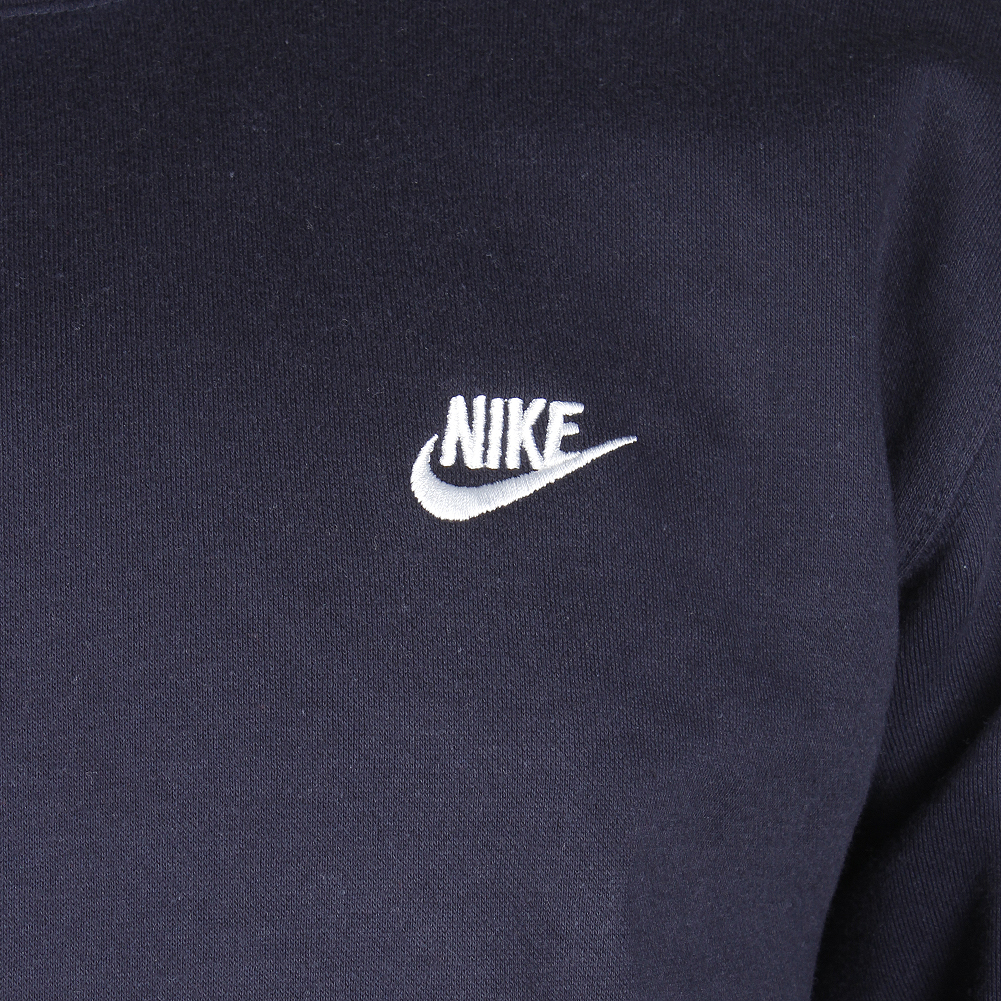 Nike-Men-039-s-Long-Sleeve-Embroidered-Logo-Club-Crew-Neck-Sweatshirt thumbnail 10