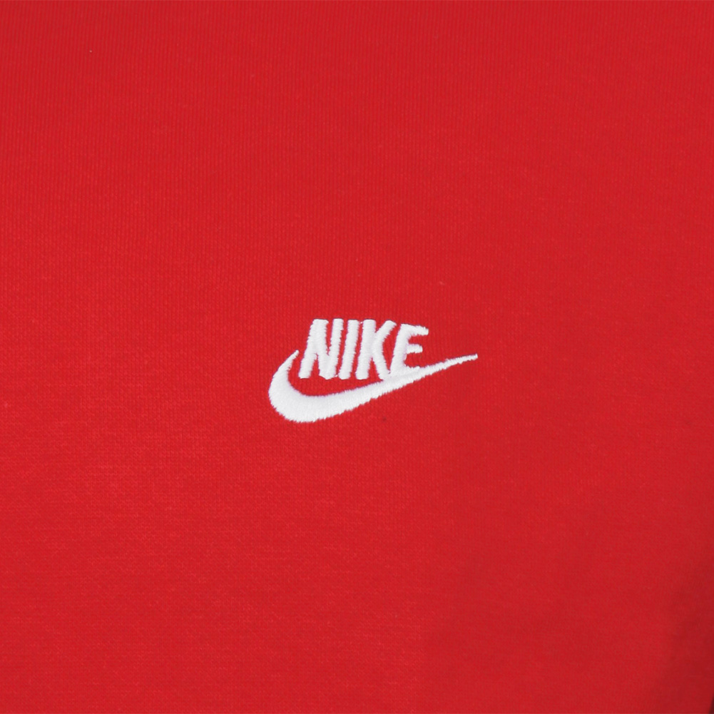 Nike-Men-039-s-Athletic-Wear-Embroidered-Logo-Club-Crew-Neck-Gym-Active-Sweatshirt thumbnail 13