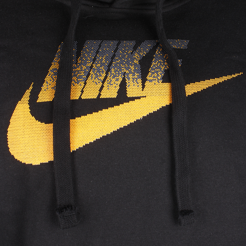 Nike-Men-039-s-Long-Sleeve-Athletic-Wear-Futura-Graphic-Logo-Active-Pullover-Hoodie thumbnail 4