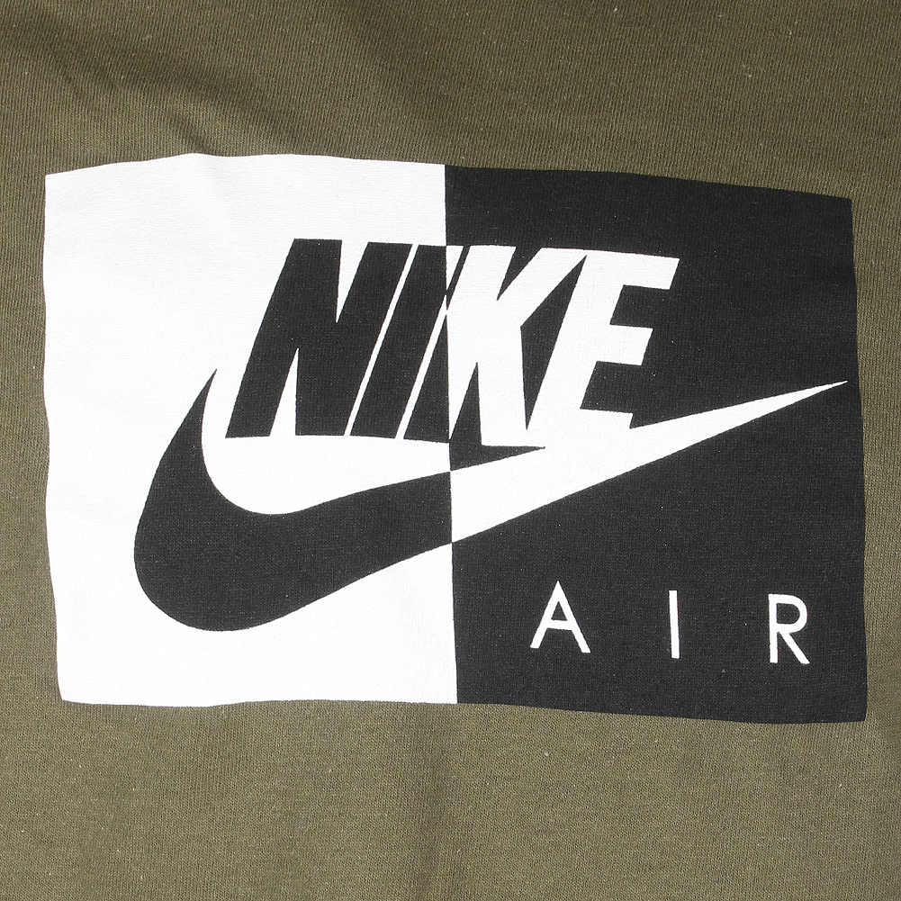 Nike-Air-Men-039-s-Short-Sleeve-Color-Blocked-Logo-Athletic-Graphic-T-Shirt thumbnail 7