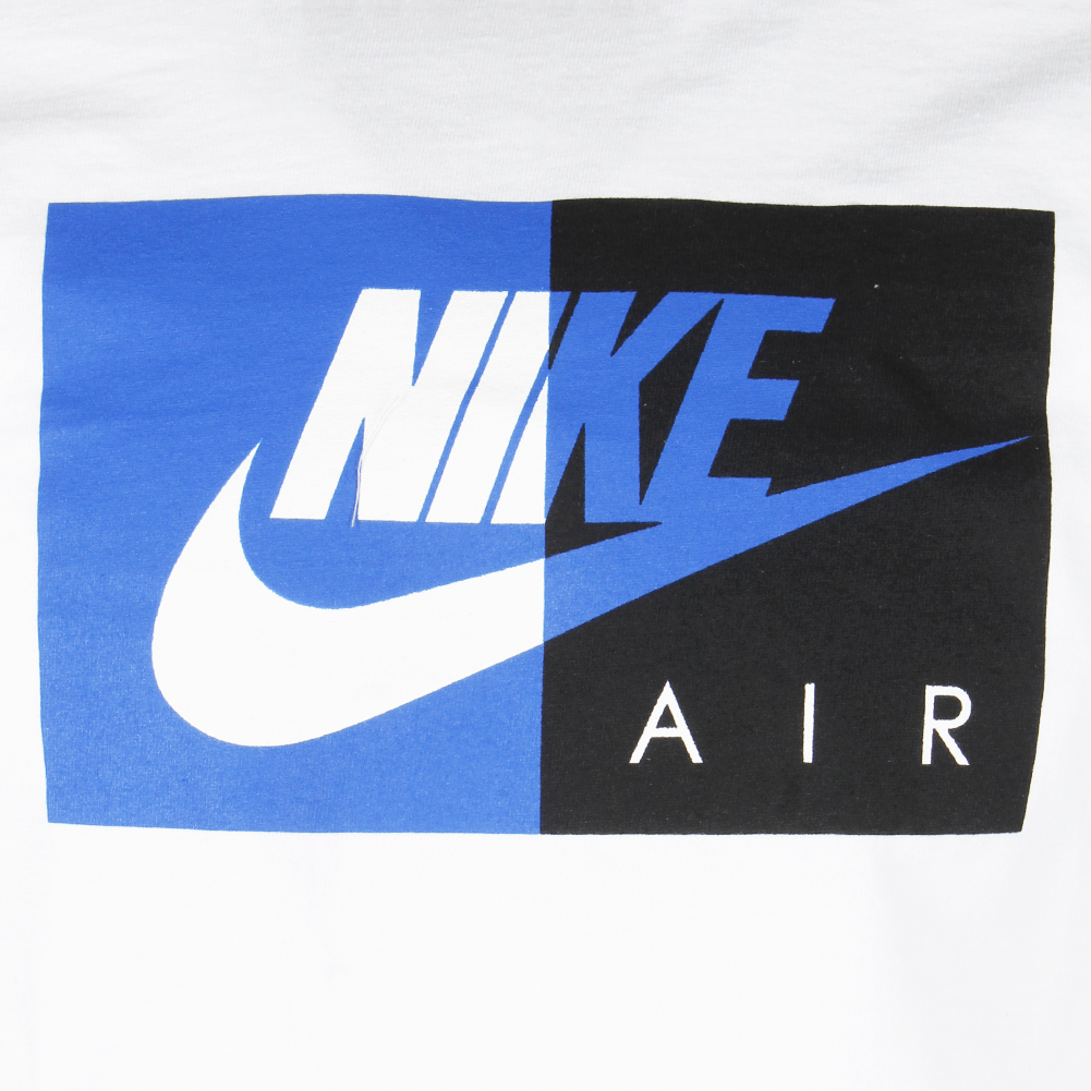 Nike-Air-Men-039-s-Short-Sleeve-Color-Blocked-Logo-Athletic-Graphic-T-Shirt thumbnail 10