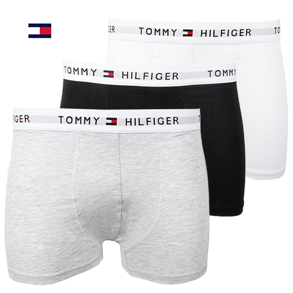 59c39819a992c6 Tommy Hilfiger Men's 3 Pack Stretch Cotton Stretch Trunks | eBay