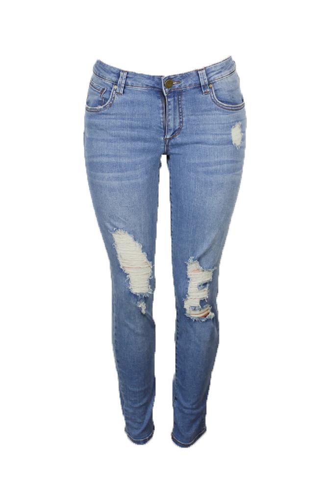 fdc13021ba2 Rachel Rachel Roy Blue Ripped Straight Leg Girlfriend Jeans 30 ...