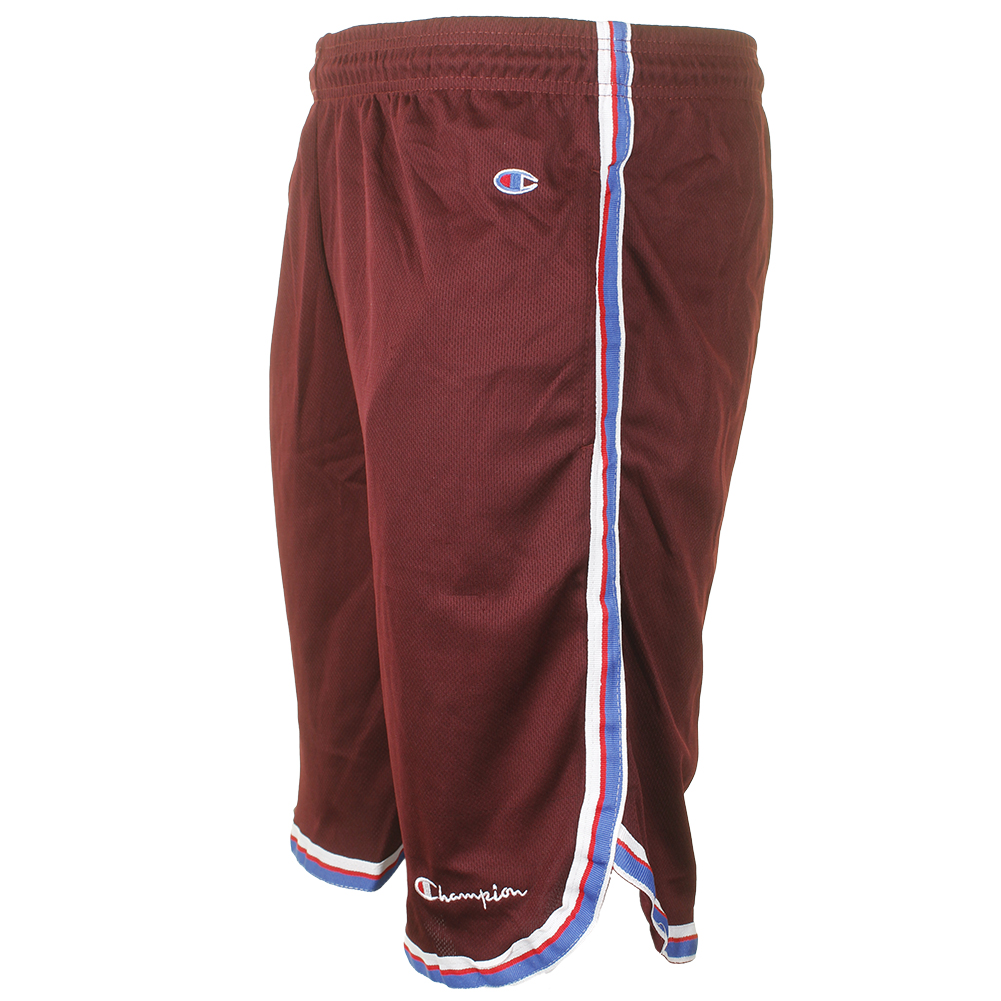 Champion-Men-039-s-Athletic-Mesh-Pocket-Striped-Gym-Basketball-Shorts-9-034 thumbnail 8