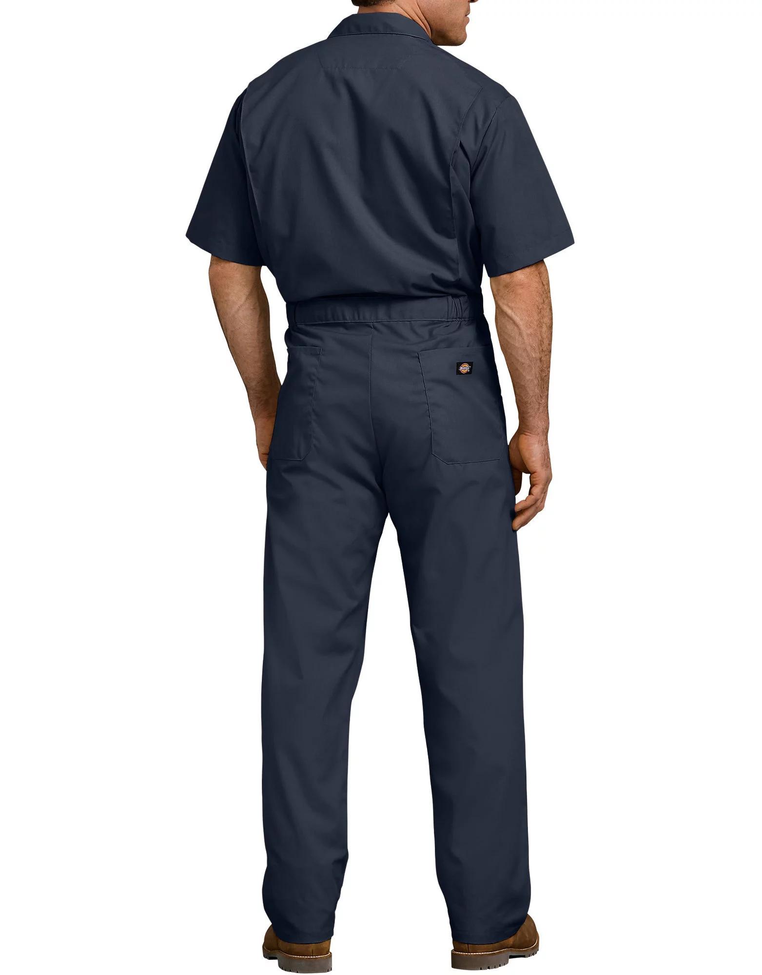 Dickies-Men-039-s-Short-Sleeve-Coveralls-Elastic-Waist-Work-Wear-Uniform thumbnail 5