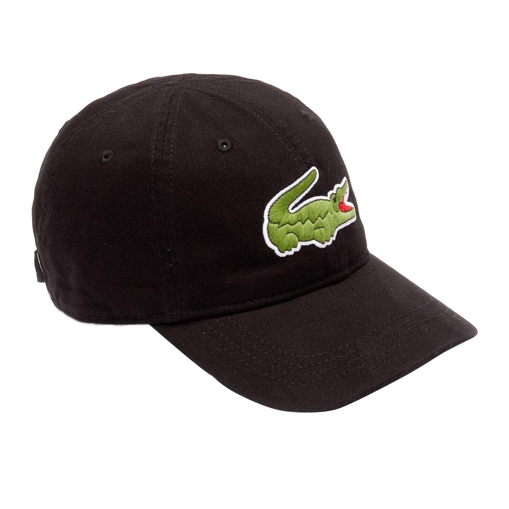 Lacoste-Homme-en-coton-brode-Big-Croc-Logo-Reglable-Chapeau-Bonnet miniature 3