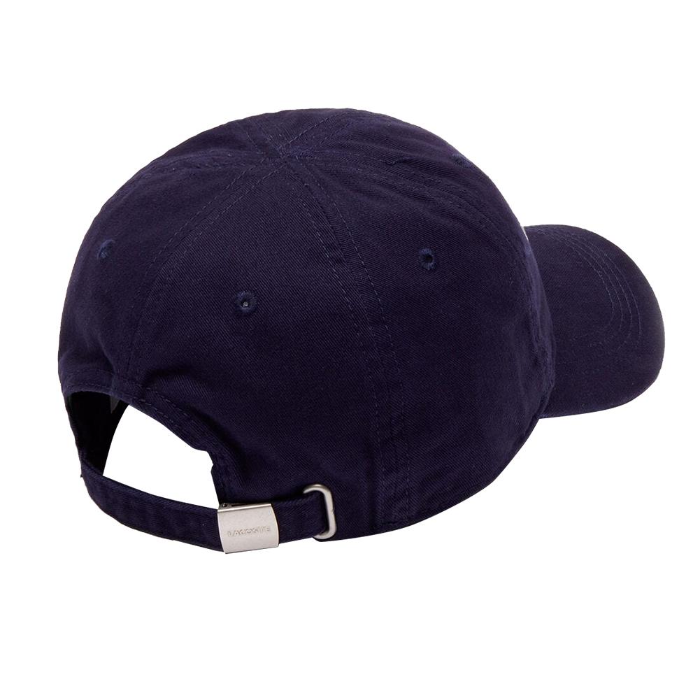 Lacoste-Homme-en-coton-brode-Big-Croc-Logo-Reglable-Chapeau-Bonnet miniature 7