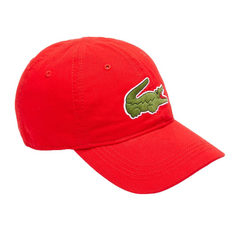 Lacoste-Homme-en-coton-brode-Big-Croc-Logo-Reglable-Chapeau-Bonnet miniature 9